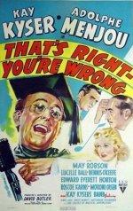 That's Right - You're Wrong [1939] [DVD]