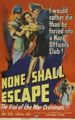 None Shall Escape [1944] [DVD]