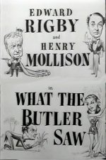 What the Butler Saw [1950] [DVD]