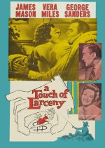 A Touch of Larceny DVD 1959