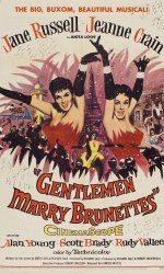 Gentlemen Marry Brunettes [1955] dvd