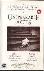 Unspeakable Acts [1990] [DVD]