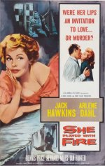 She Played With Fire [1958] [DVD]