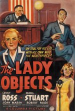 The Lady Objects [1938] [DVD]