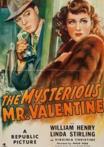 The Mysterious Mr Valentine [1946] [DVD]